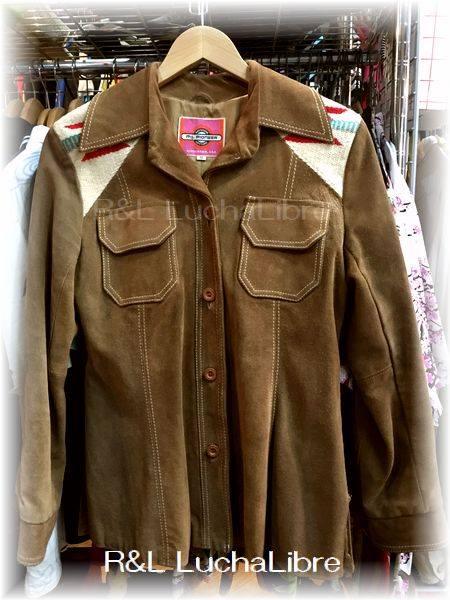 Vintage Chimayo & Suede Jacket