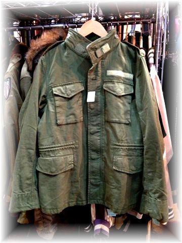 Edition エディション M-65 ミリタリージャケット