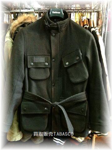 ビームスF × バブアー メルトン インターナショナルジャケット