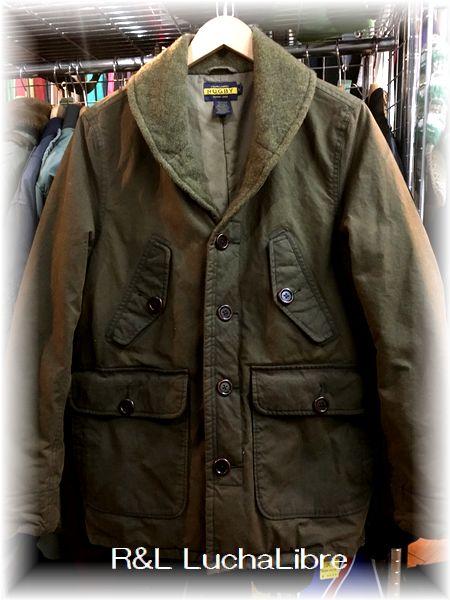 Ralph Lauren ラルフローレン RUGBY ラグビー ショールカラー オイルドジャケット