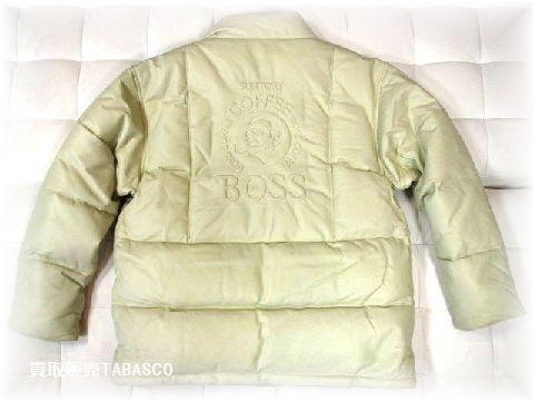 サントリー「BOSS/ボス」 レザーダウン 10周年(1992-2001)モデル
