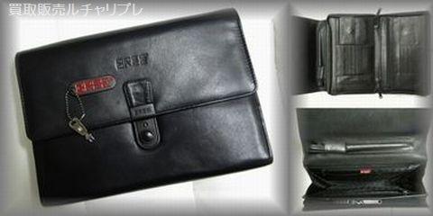 BREE レザー製 鍵付セカンドバッグ