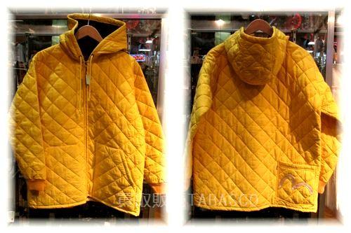 evisu エヴィス フード付 キルティングジャケット