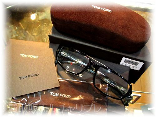 TOM FORD  トムフォード 眼鏡 セルフレーム
