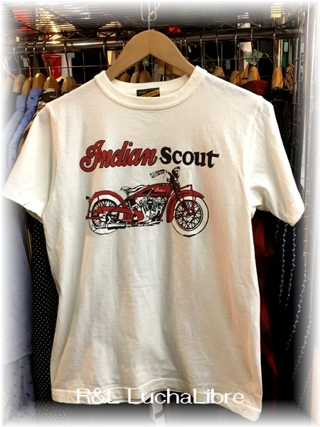 Indian Motorcycle インディアン モーターサイクル Tシャツ