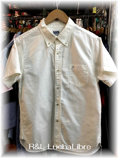 Pherrow's フェローズ SHORT SLEEVES OXFORD B.D. SHIRTS