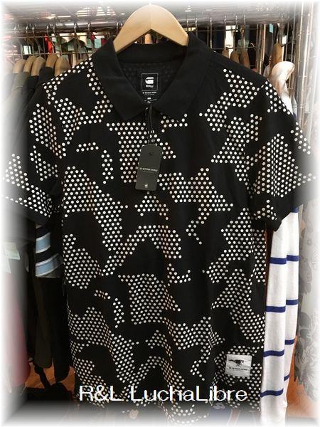 G-STAR RAW ジースター VNDL POLO T 半袖ポロシャツ
