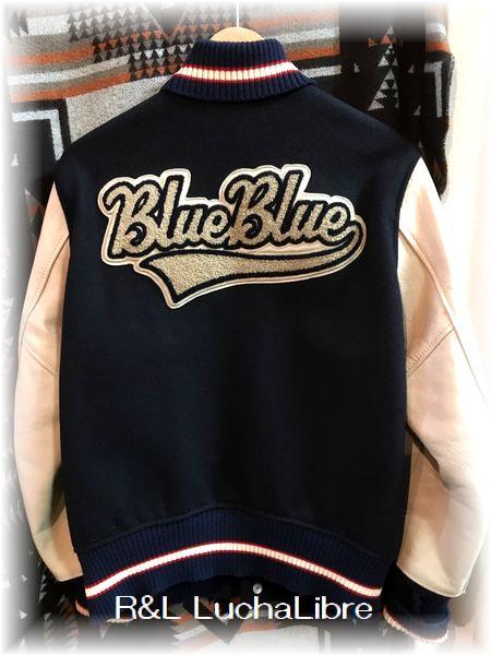 BLUE BLUE ブルーブルー BLUE67 STADIUM JACKET スタジアムジャケット
