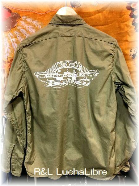 The REAL McCOY'S ザリアルマッコイズ N-3 SHIRT 長袖シャツ RIVER D