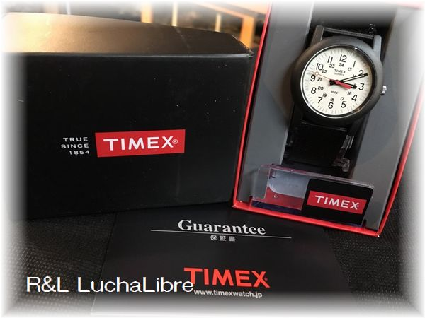TIMEX タイメックス Camper キャンパー BK