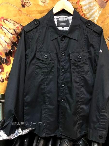 バーバリー ブラックレーベル シャツジャケット M-65