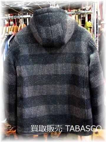 WEST RIDE DECK HOOD JACKET/BORDER BEACH CLOTH