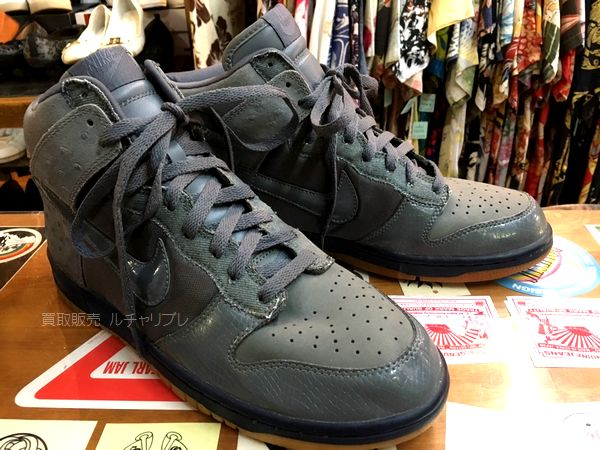 NIKE DUNK HIGH DELUXE 05 グラファイト