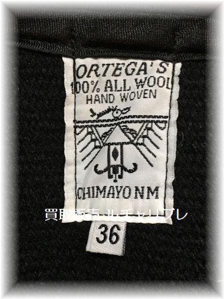 ORTEGA'S オルテガ チマヨベスト BK