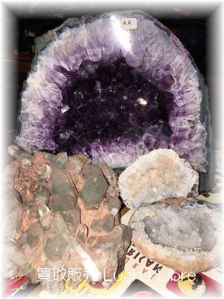 アメジストドーム 水晶