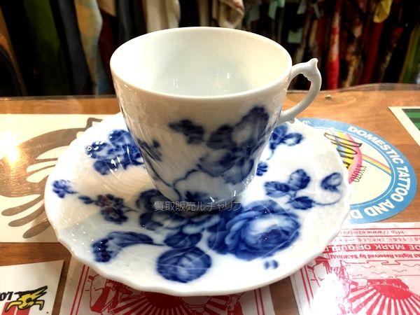 Richard Ginori ROSE BLUE カップ&ソーサー