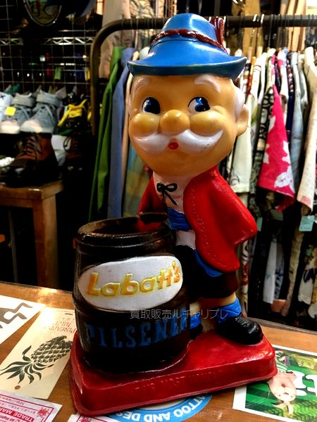 LABATT'S PILSENER Advertising Vinyl Figure フィギュア/ソ
