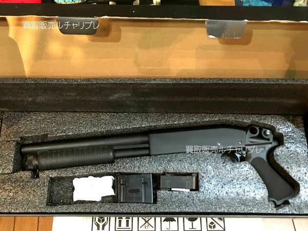 S&T Remington レミントン刻印 M870 ショート ピストルグリップ エアガン