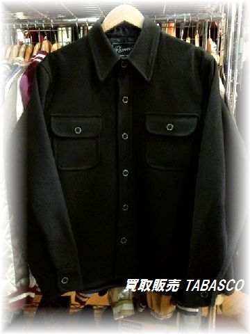 Pherrow's フェローズ ウール CPO シャツ ジャケット