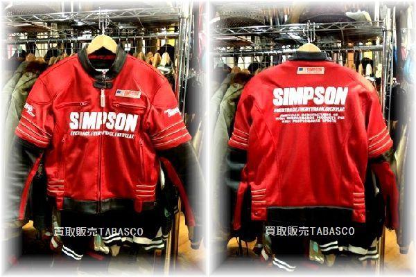 SIMPSONシンプソン ライダースジャケット