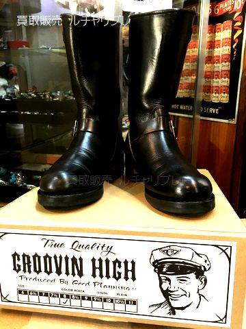 The Groovin High ザ グルービン ハイ ヴィンテージスタイル エンジニアブーツ