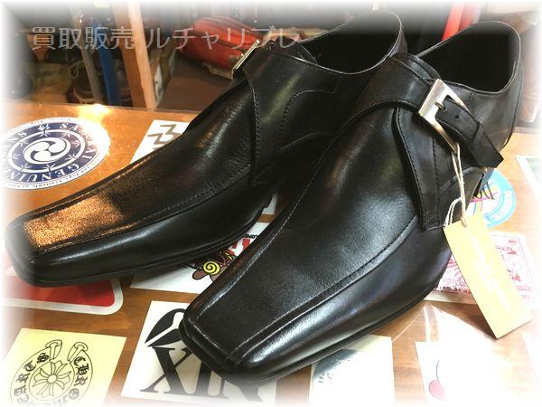 キャサリンハムネット ロンドン  モンクストラップシューズ  靴
