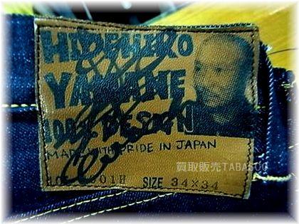 HIDEHIKO YAMANE 100% DESIGN エヴィス社長サイン入り