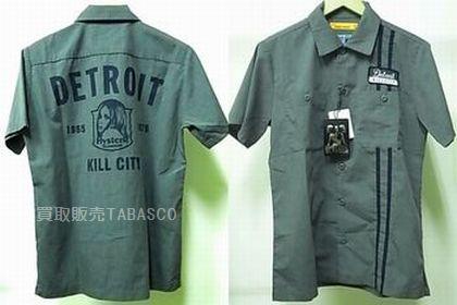 タグ付 ヒステリックグラマー 半袖 ボタンシャツ DETROIT KILL CITY