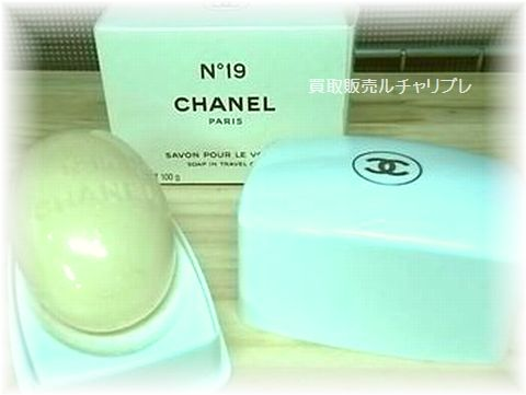 CHANEL ケース付 香水石鹸100g