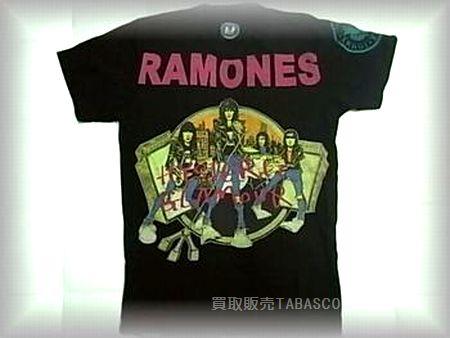 ヒステリックグラマー RAMONES ラモーンズ Tシャツ