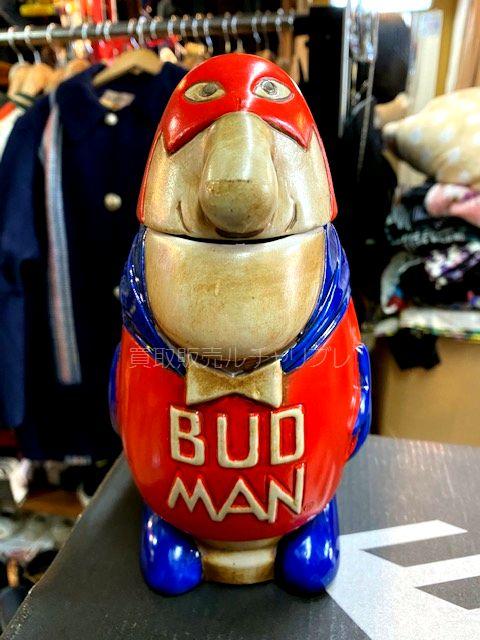 Budweiser バドワイザー BUDMAN BEER STEIN バドマン ビールシュタイン